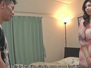AnySex Video - Attractive Asian MILF Yuko Iijima Enjoys Blowing A Big Juicy Pole