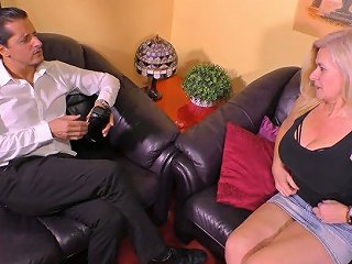 AnySex Video - Mature Harlot With Big Saggy Tits Maria Montana Gets Her Muff Slammed