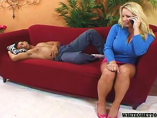 BravoTube Video - Busty Blonde MILF Rachel Love Rides A Dick And Gets A