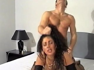 BravoTeens Video - Busty Milf With Big Tits In Hardcore Titjob With Hair Pulling