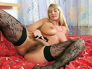 HellPorno Video - Hot Lingerie On Hairy Box Babe