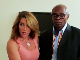 AnyPorn Video - He Watches His Wife Cum All Over A Black Guy's Big Cock