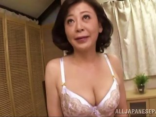 AnyPorn Video - Moms Need To Cum Too So This Asian Milf Fingers Her Pussy