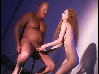 AlphaPorno Video - Redhead With A Glorious Body Using His Cock