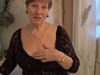 TNAFlix Video - Hairy Granny In Crotchless Panties Posing Porn Videos