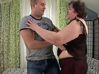 AnySex Video - Obese Old Slut Iris Is Having Dirty Sex With Young Lover
