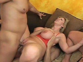 YouPorn Video - Curvy Mom Gets Dped By Younger Dicks
