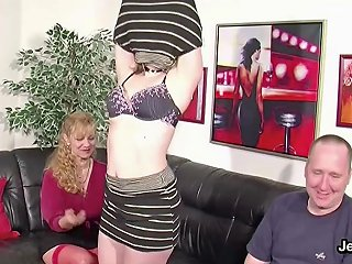 GotPorn Video - German Ugly Teen Lucy Get First Fuck By Step Dad And Mom