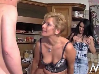 XHamster Video - German Teen Assists Mature Couple Free Porn Ab Xhamster