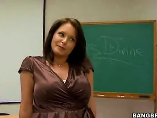 AnyPorn Video - After School Cramming With The Busty Maths Teacher