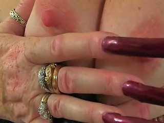 JizzBunker Video - English GILF Elle Gets Turned On In Her Leather Outfit