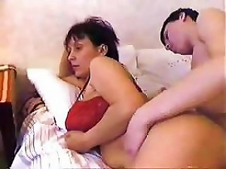 BravoTube Video - Russian Step-mom Wakes Up Her Step-son With A Hardcore Fucking
