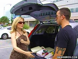 BravoTube Video - Insane Hardcore Sex With The Blonde Milf Nina Hartley