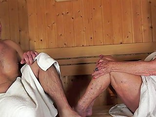 GotPorn Video - Saggy Grandma Banged Hard In The Sauna Room