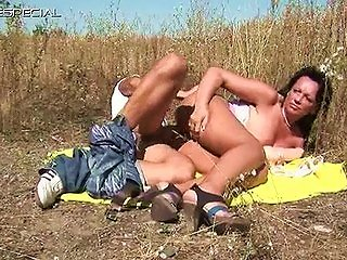 Tube8 Video - Horny Milf Gets Fucked Hard Outdoor Part6
