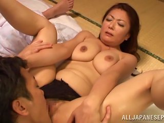 BravoTube Video - Ayano Murasaki Moans Loudly While Jumping On This Hard Cock