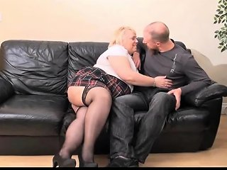 DrTuber Video - Mature British Bbw Lexie Cummings Fucks A Young Stud Drtuber