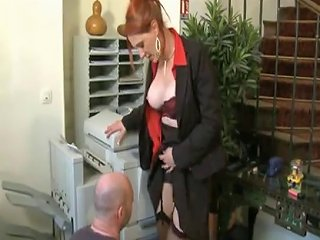 XHamster Video - Milf Redhead In Business Suit Slammed Porn C5 Xhamster