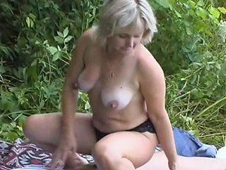 BravoTube Video - Lewd Milf Sneaks Her Much Younger Stud To The Woods A Fir A Hardcore Shagging