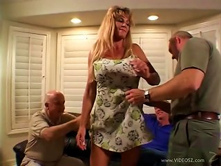 BravoTube Video - Horny Milf Wife Fucked In Front Of Her Cuckold Husband
