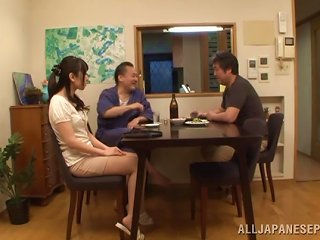 BravoTube Video - Chika Arimura Moans While Being Nailed By An Old Man