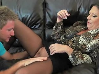 BravoTube Video - Horny Mature Gets Fucked By A Young Stud