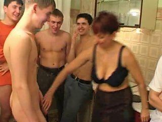 XHamster Video - Birthday Boy Fucks His Friend's Mom With Fellows Porn 03
