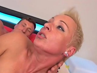 XHamster Video - German Mom Mandy Mystery Wakes Up Son With Blowjob Porn E6