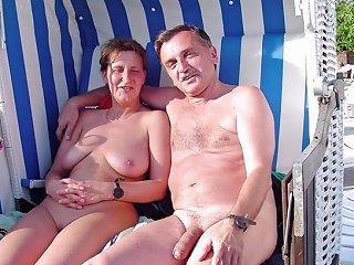 JizzBunker Video - Mature Nudists Couples