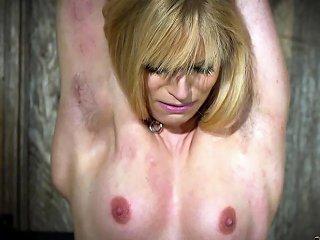 DrTuber Video - Hot Blonde In Submission Gets Tortured And Loves It Drtuber