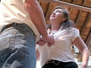 PornHub Video - German Mother In Stockings Seduce To Fuck On Work