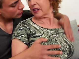 XHamster Video - Hungry Granny Seduce Stupid Young Son